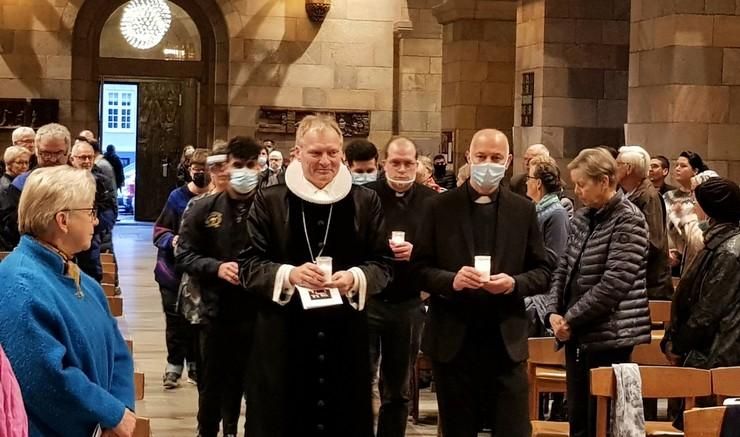 Gudstjeneste med biskop i Viborg stift Henrik Stubkjær