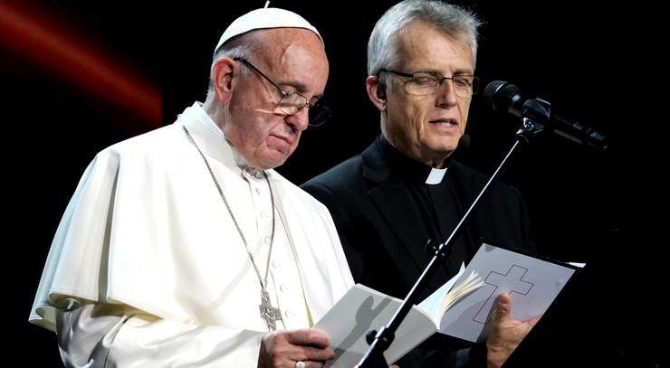 Pave Frans og Martin Junge, LVF, Lund
