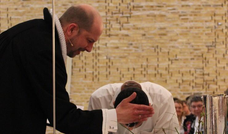 Dåb i Nørrelandskirken